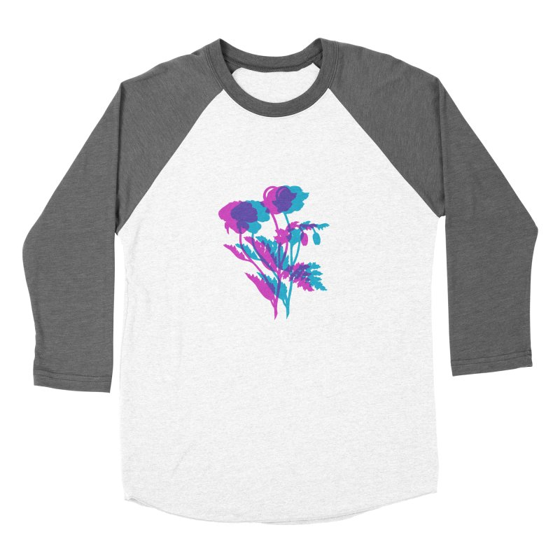 poppies Women's Longsleeve T-Shirt by EarthtoMonica
