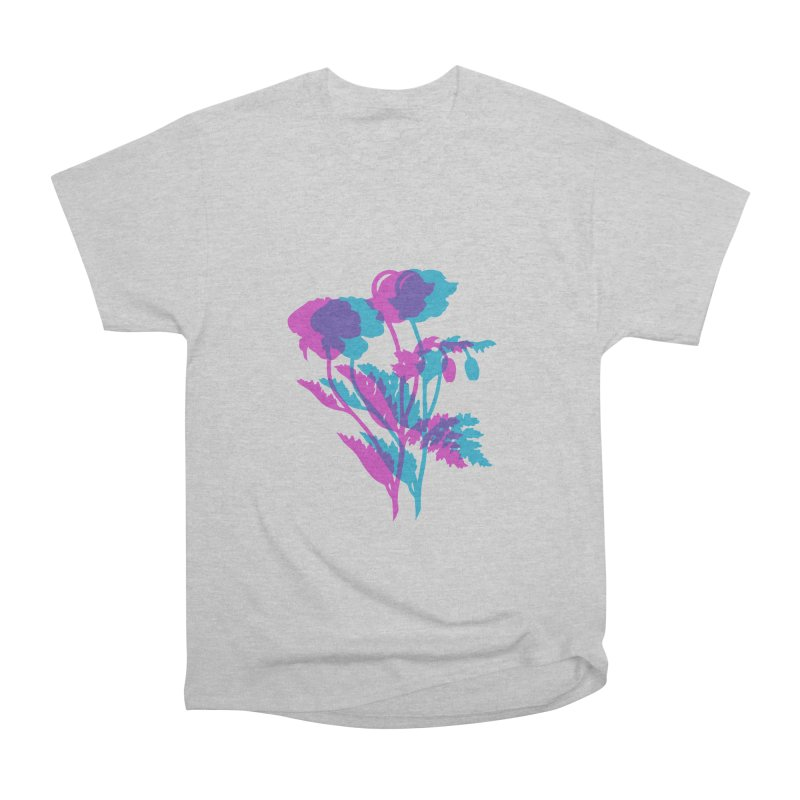 poppies Men's Classic T-Shirt by Earthtomonica's Artist Shop