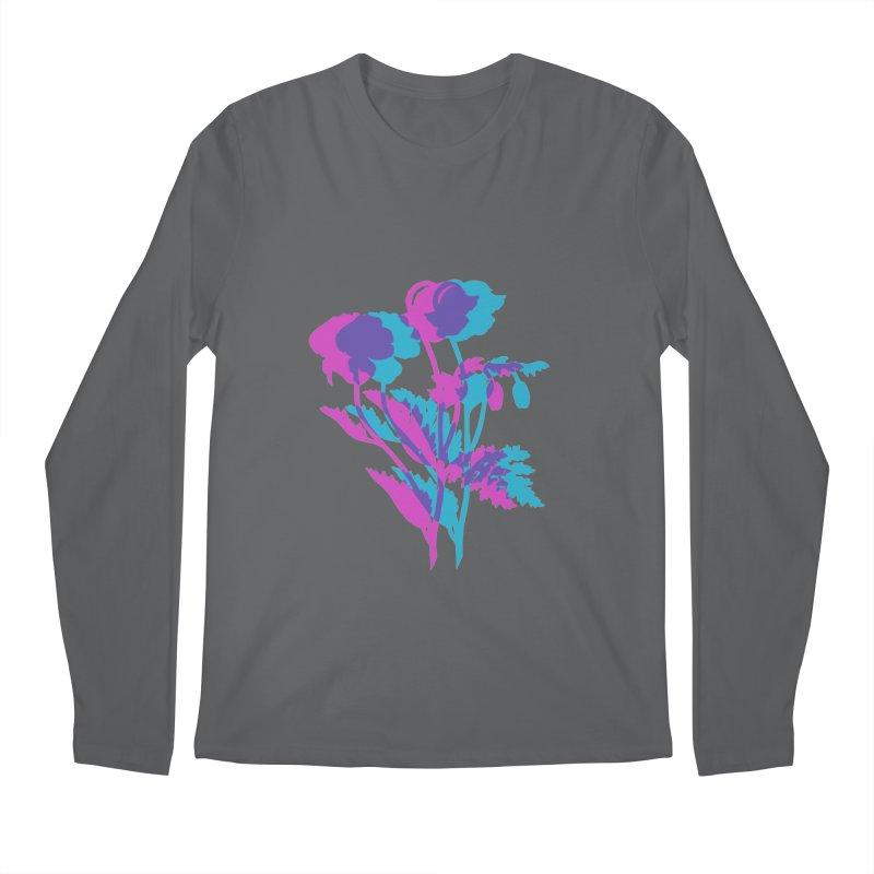 poppies Men's Regular Longsleeve T-Shirt by EarthtoMonica