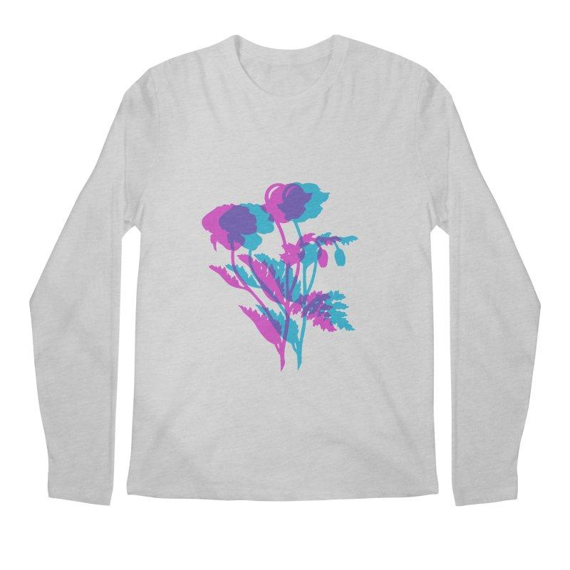 poppies Men's Longsleeve T-Shirt by Earthtomonica's Artist Shop