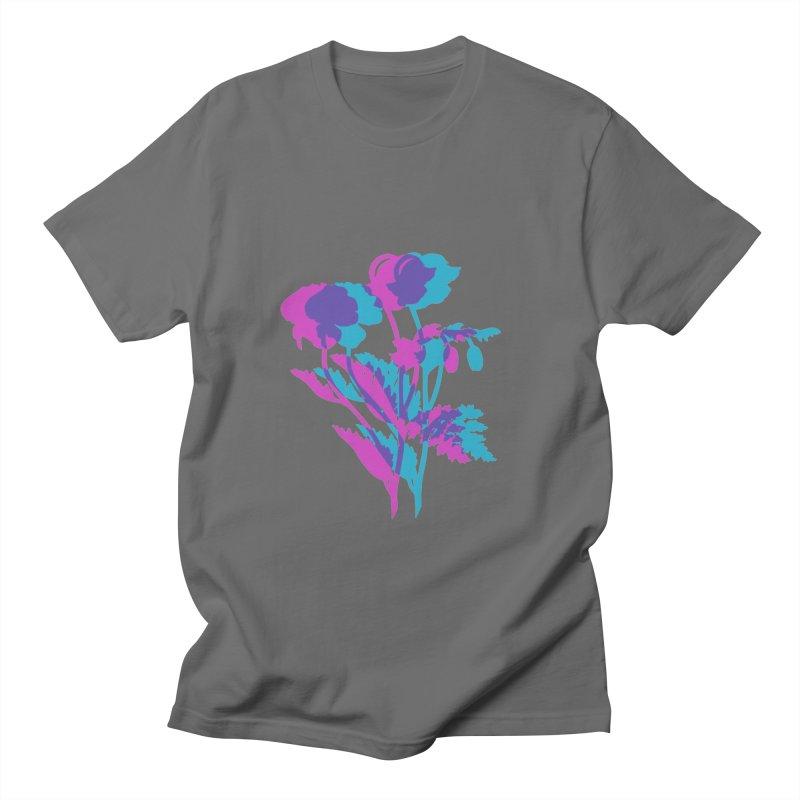poppies Men's T-Shirt by EarthtoMonica