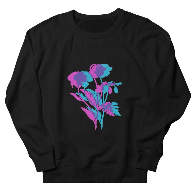 poppies Women's Sweatshirt by Earthtomonica's Artist Shop