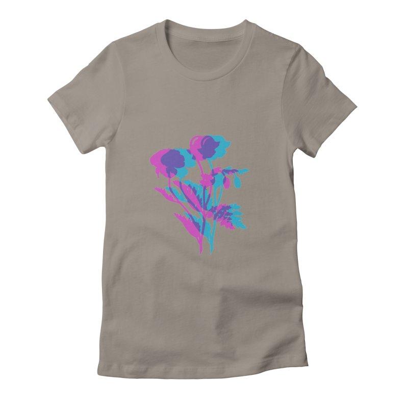 poppies Women's T-Shirt by EarthtoMonica