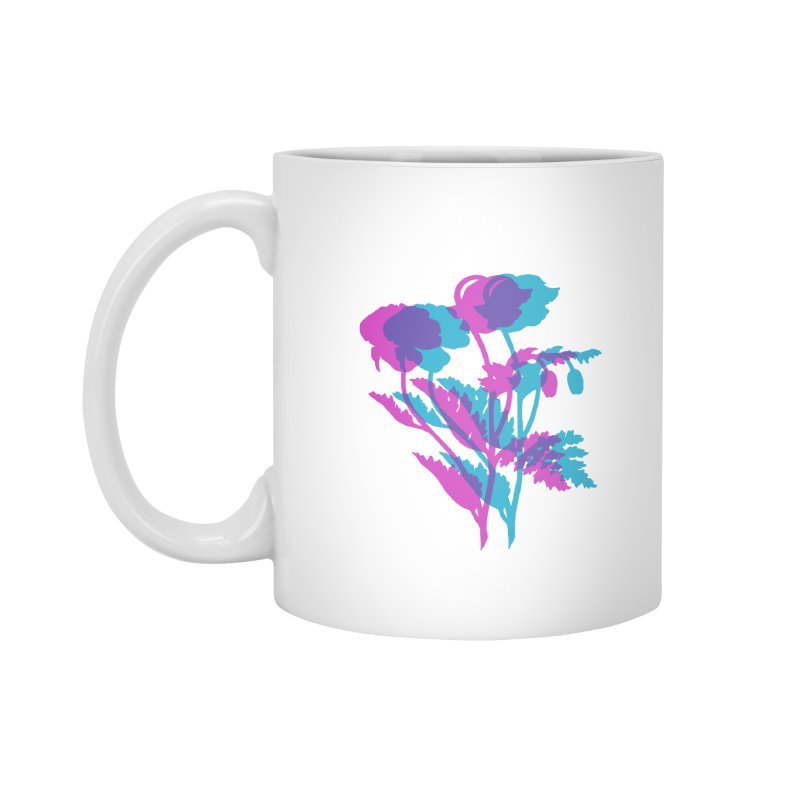 poppies Accessories Standard Mug by EarthtoMonica