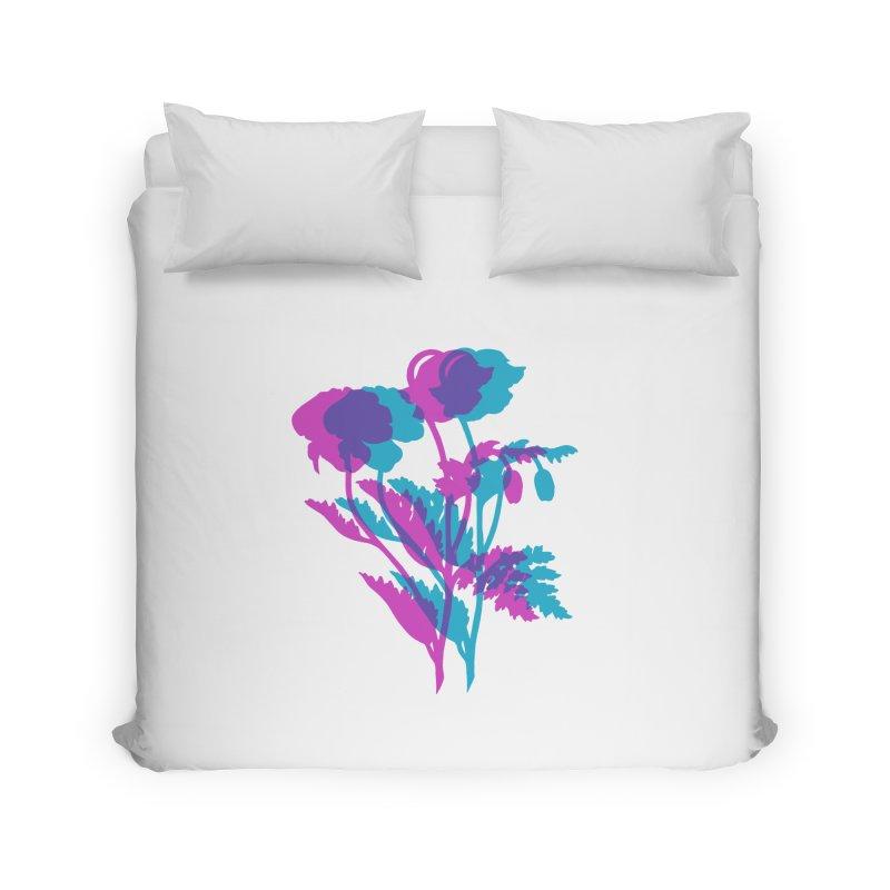 poppies Home Duvet by EarthtoMonica
