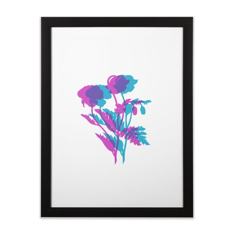 poppies Home Framed Fine Art Print by EarthtoMonica