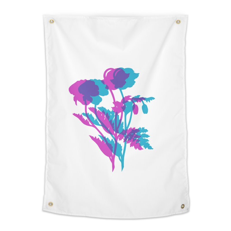 poppies Home Tapestry by EarthtoMonica