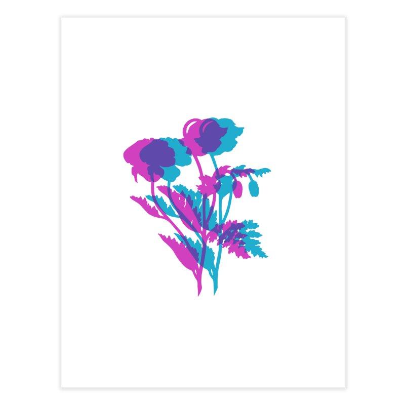 poppies Home Fine Art Print by EarthtoMonica