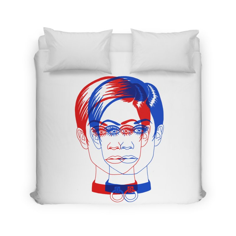 double twiggy Home Duvet by Earthtomonica's Artist Shop