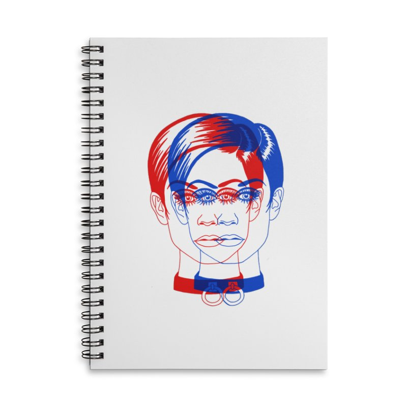 double twiggy Accessories Lined Spiral Notebook by EarthtoMonica