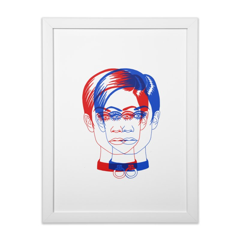 double twiggy Home Framed Fine Art Print by EarthtoMonica