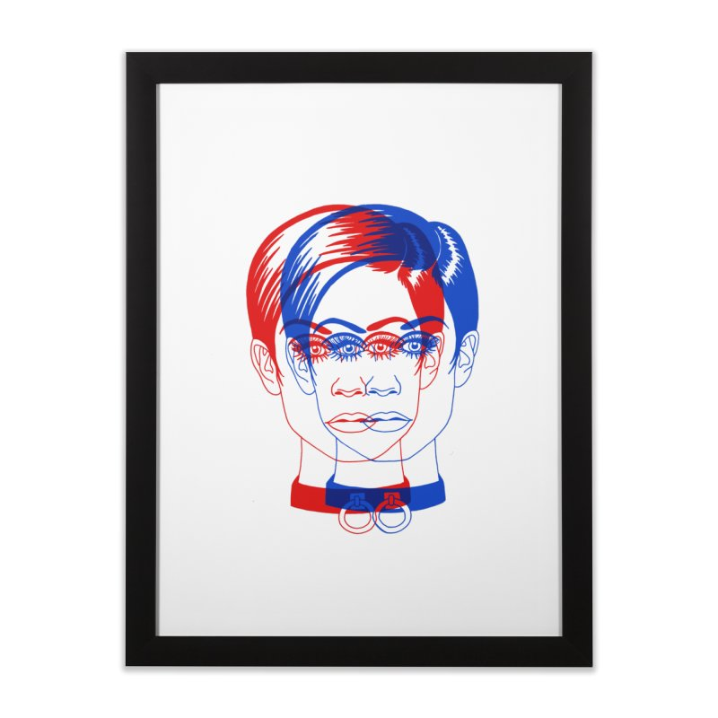 double twiggy Home Framed Fine Art Print by Earthtomonica's Artist Shop