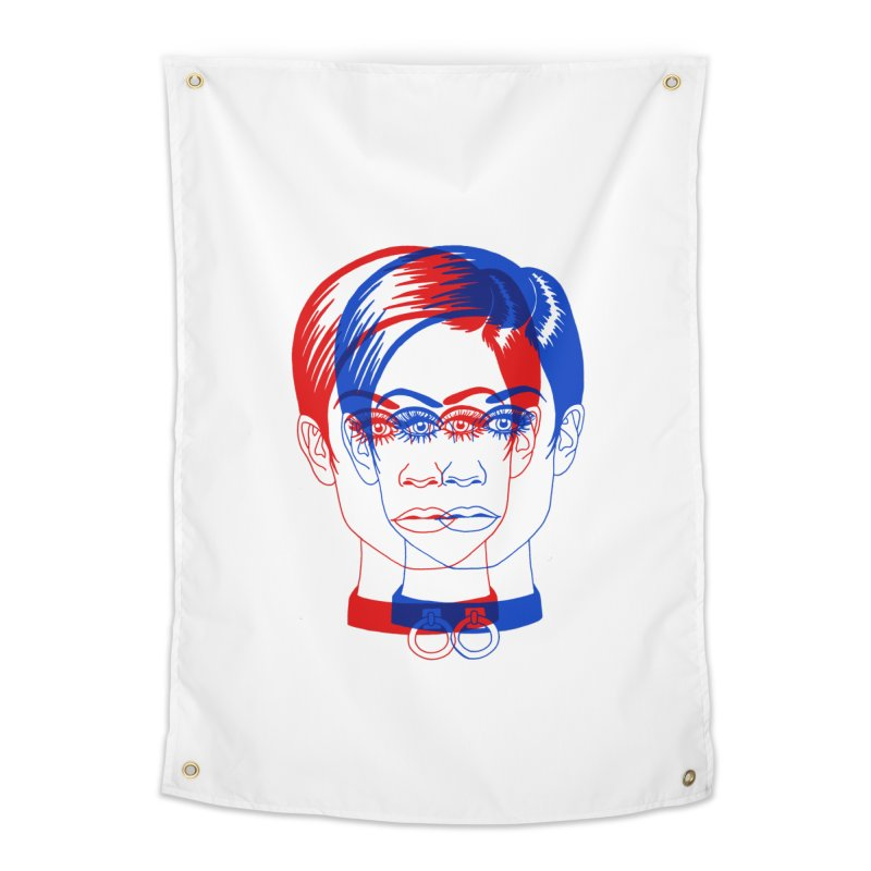 double twiggy Home Tapestry by Earthtomonica's Artist Shop