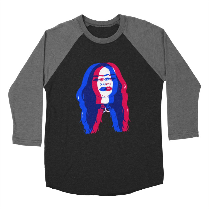 I can't be what you need Men's Baseball Triblend Longsleeve T-Shirt by EarthtoMonica