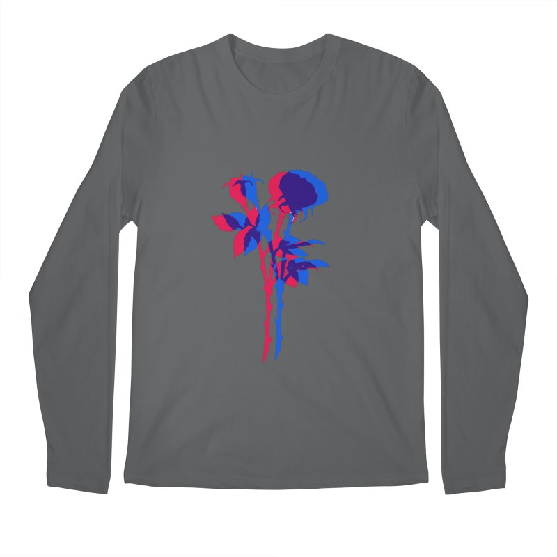 double rose Men's Longsleeve T-Shirt by EarthtoMonica