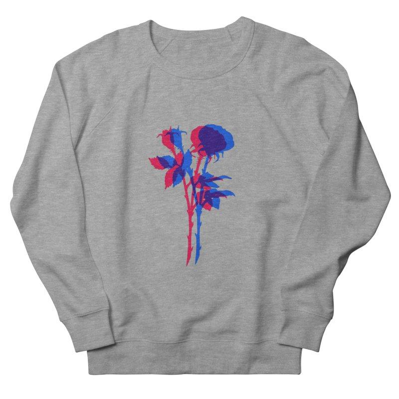 double rose Men's Sweatshirt by Earthtomonica's Artist Shop