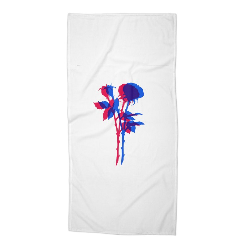 double rose Accessories Beach Towel by Earthtomonica's Artist Shop