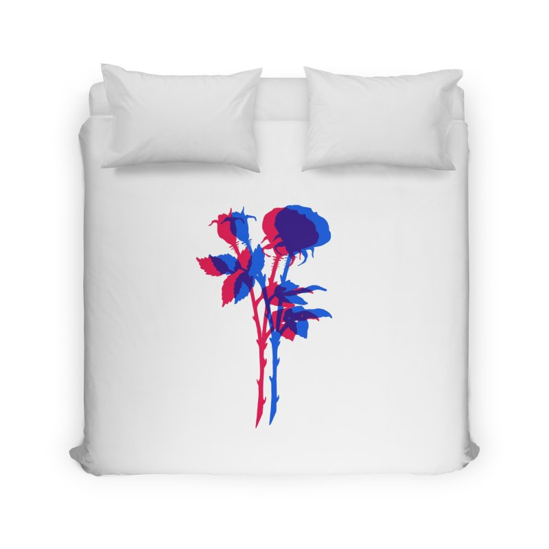 double rose Home Duvet by Earthtomonica's Artist Shop