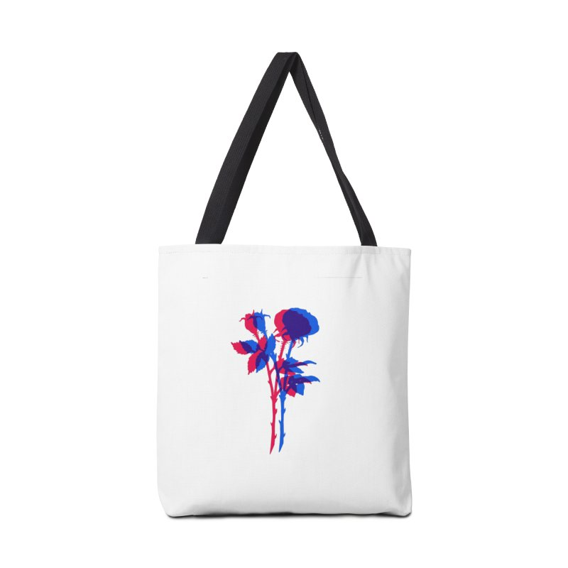 double rose Accessories Tote Bag Bag by EarthtoMonica