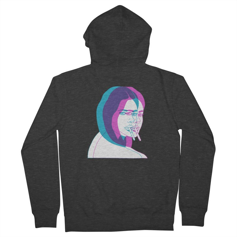 I'd rather be asleep right now Women's French Terry Zip-Up Hoody by EarthtoMonica