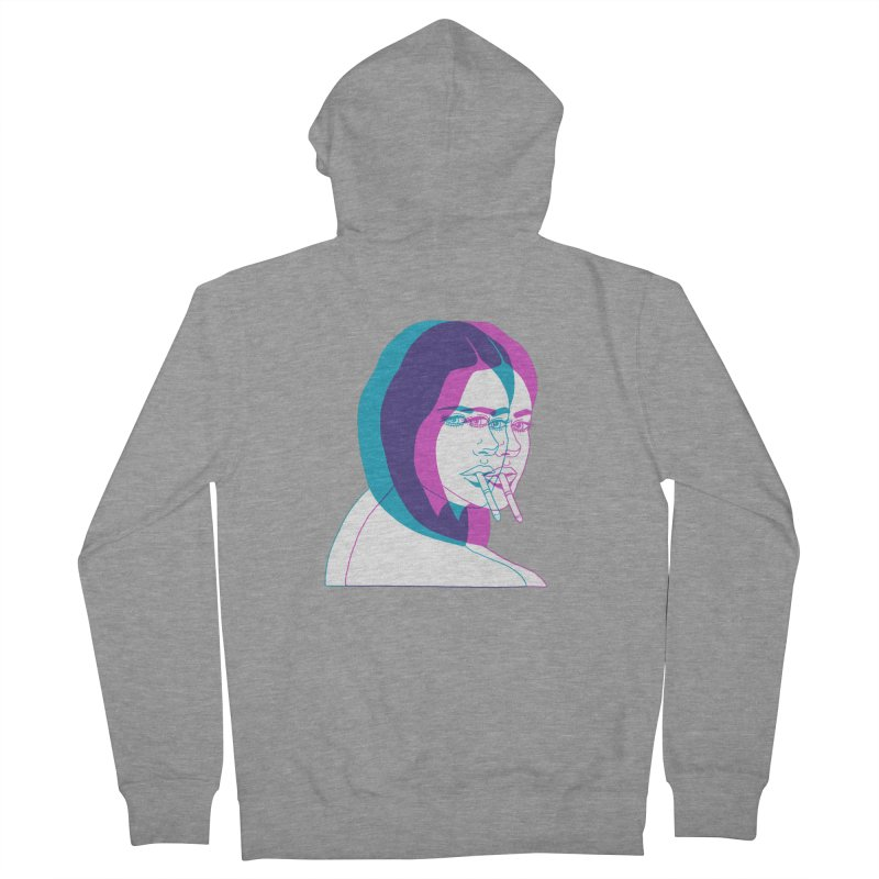 I'd rather be asleep right now Women's French Terry Zip-Up Hoody by Earthtomonica's Artist Shop