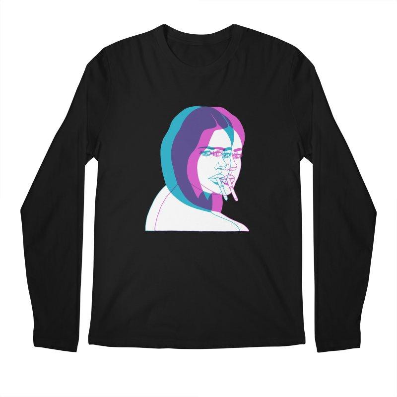 I'd rather be asleep right now Men's Longsleeve T-Shirt by Earthtomonica's Artist Shop