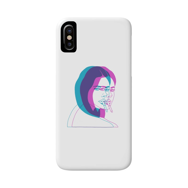 I'd rather be asleep right now Accessories Phone Case by Earthtomonica's Artist Shop
