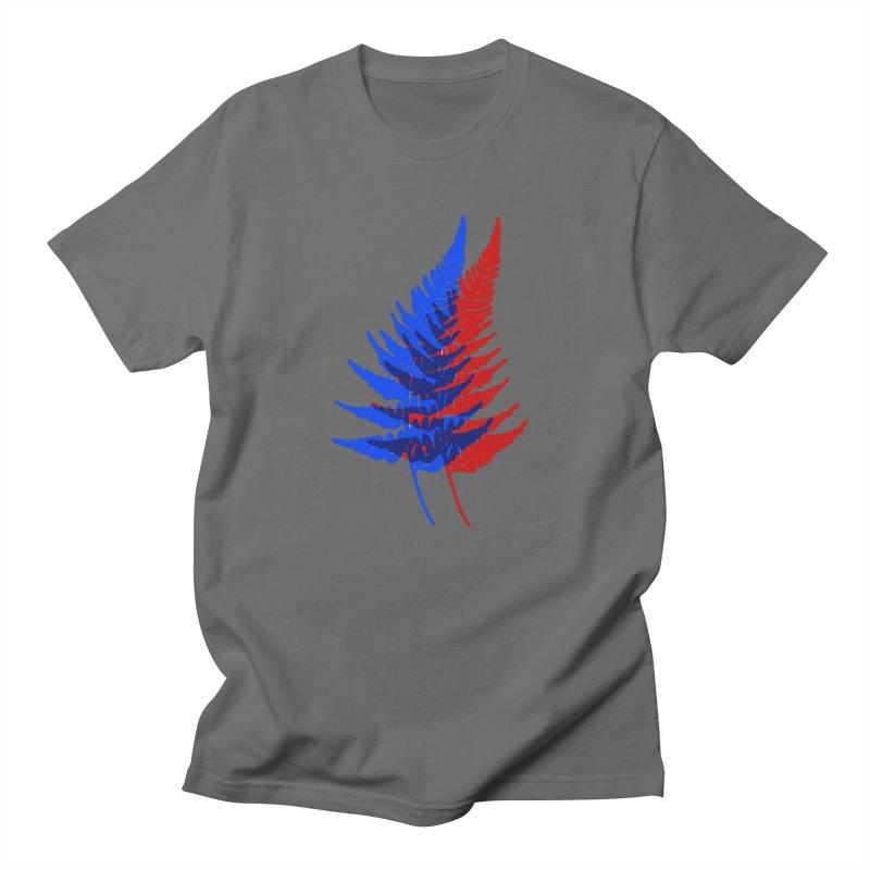 double fern Men's T-Shirt by EarthtoMonica