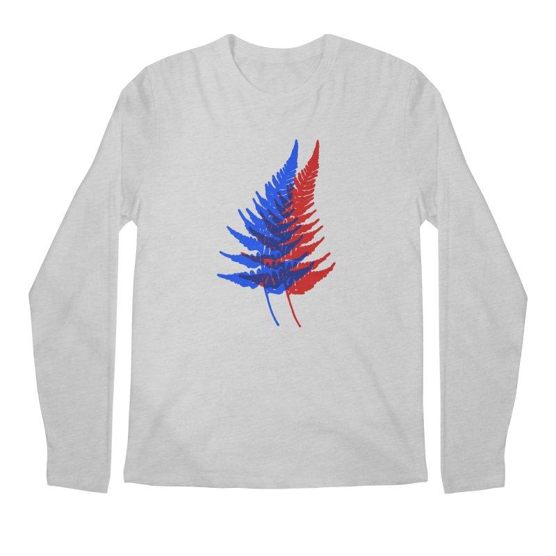 double fern Men's Longsleeve T-Shirt by Earthtomonica's Artist Shop