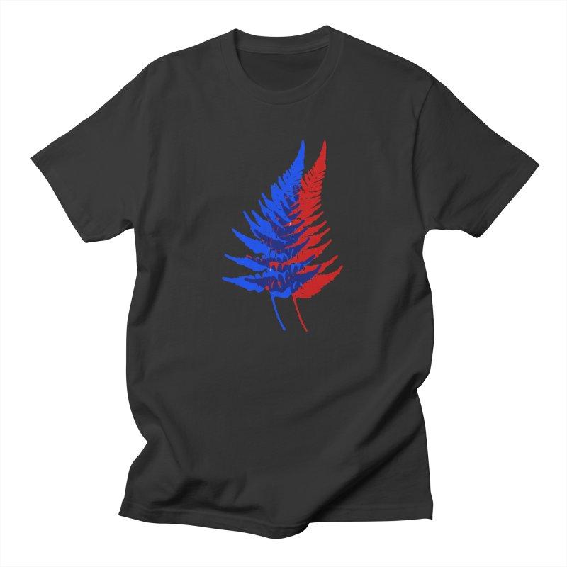 double fern Men's T-Shirt by Earthtomonica's Artist Shop