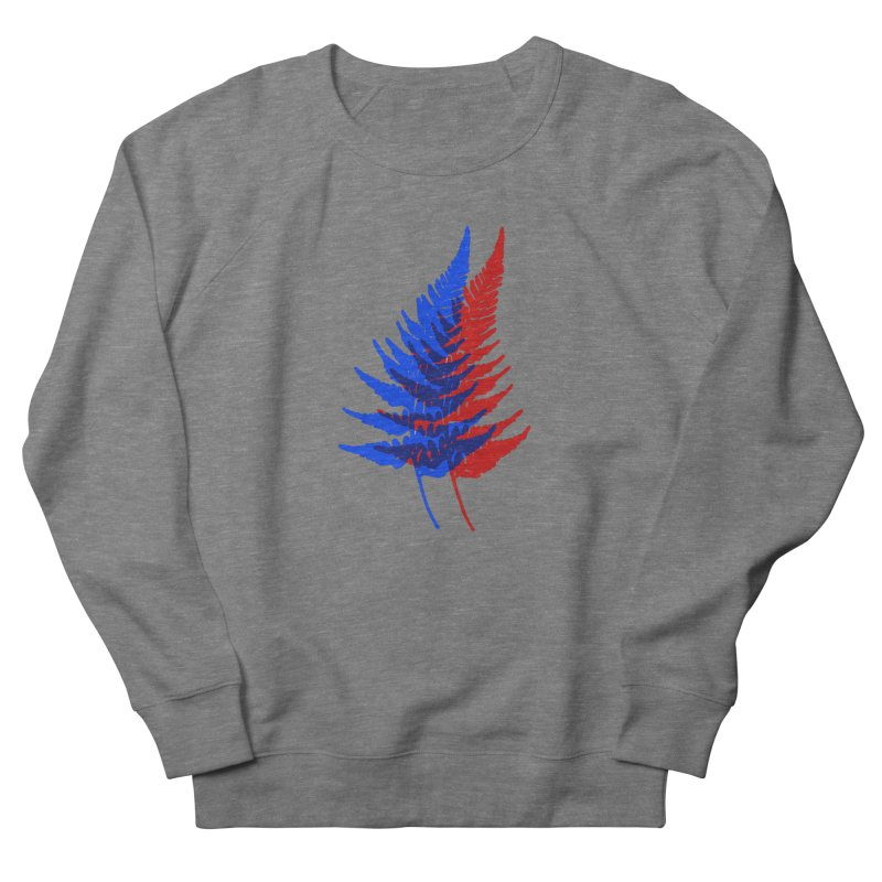 double fern Women's French Terry Sweatshirt by EarthtoMonica
