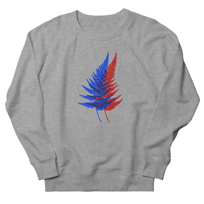 double fern Women's French Terry Sweatshirt by Earthtomonica's Artist Shop