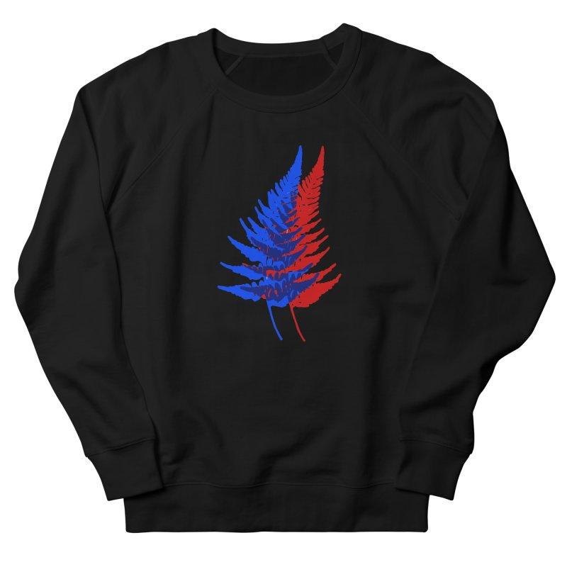 double fern Women's French Terry Sweatshirt by EarthtoMonica