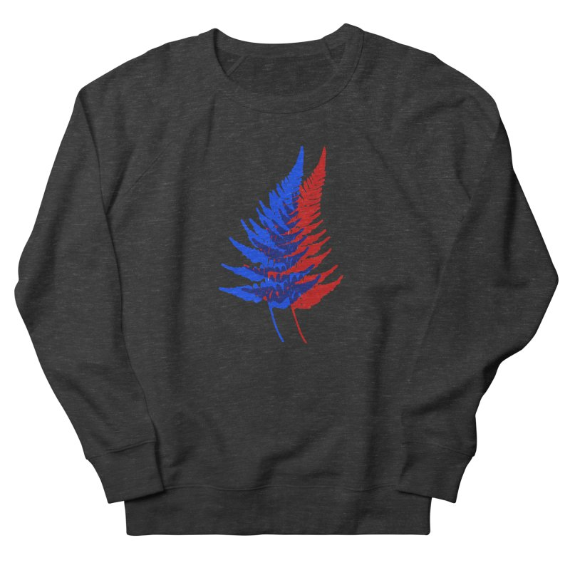 double fern Men's Sweatshirt by Earthtomonica's Artist Shop