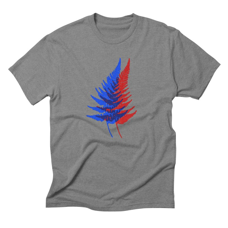 double fern Men's Triblend T-Shirt by Earthtomonica's Artist Shop