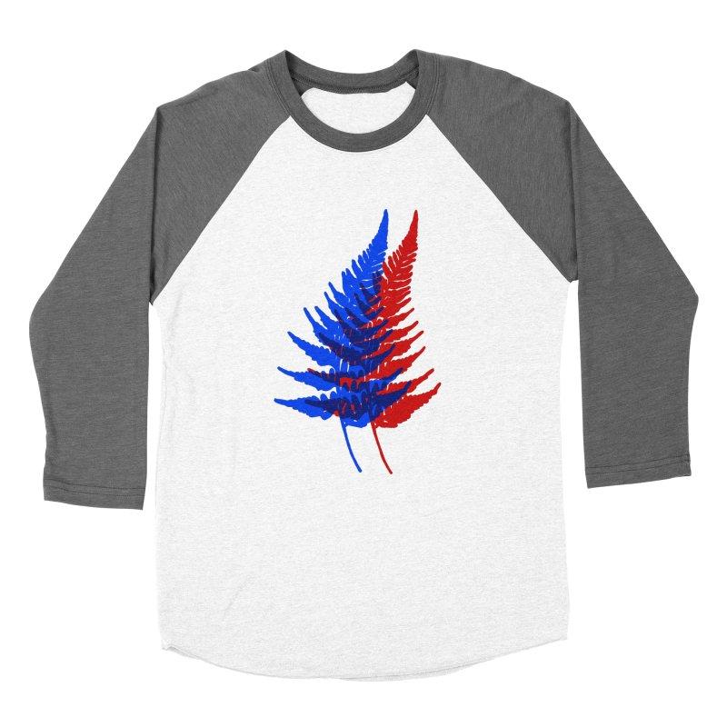 double fern Women's Baseball Triblend Longsleeve T-Shirt by EarthtoMonica