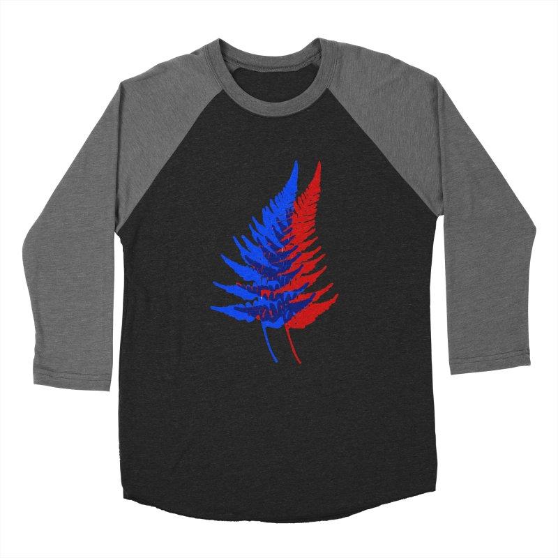 double fern Men's Baseball Triblend Longsleeve T-Shirt by EarthtoMonica