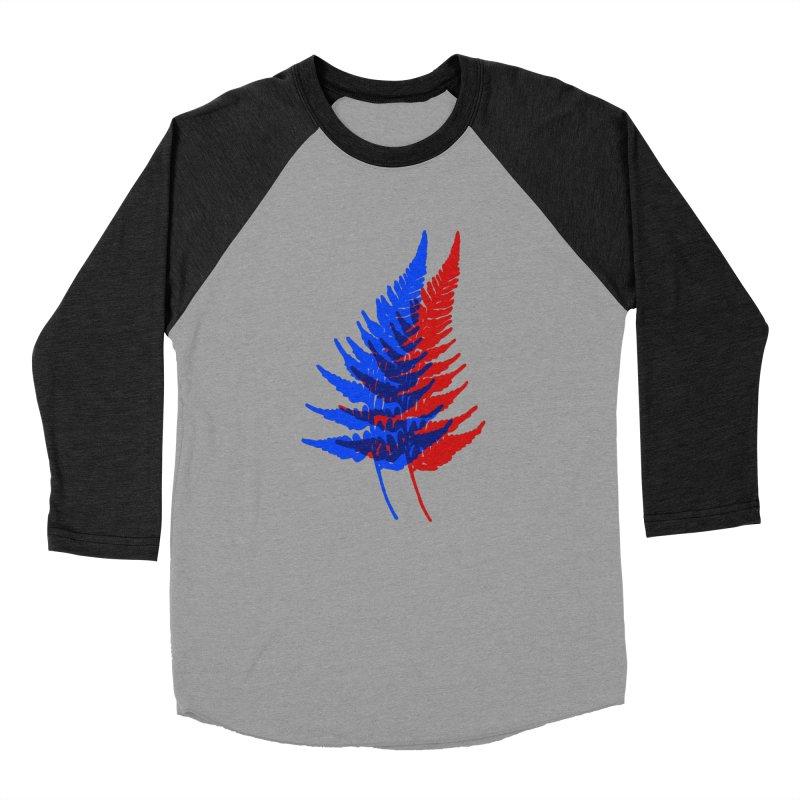 double fern Men's Baseball Triblend T-Shirt by Earthtomonica's Artist Shop