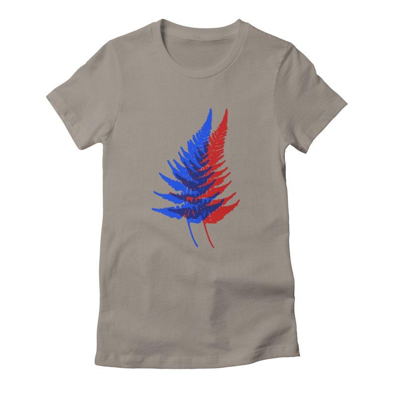 double fern Women's T-Shirt by EarthtoMonica