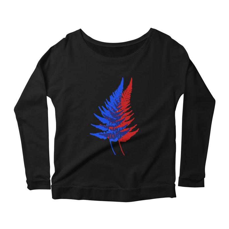 double fern Women's Longsleeve T-Shirt by EarthtoMonica