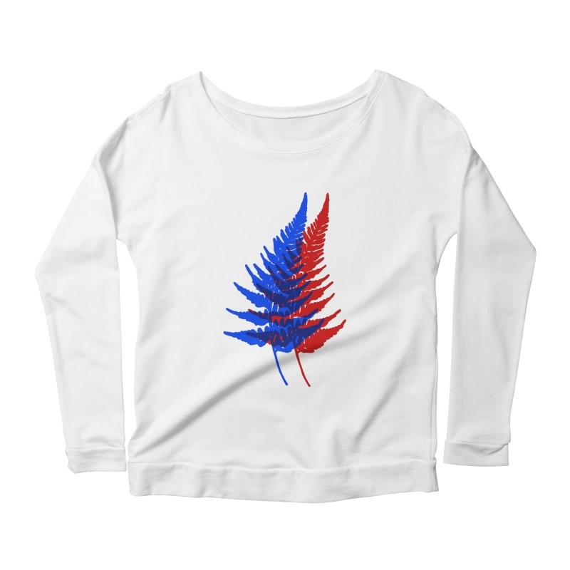 double fern Women's Longsleeve T-Shirt by EarthtoMonica