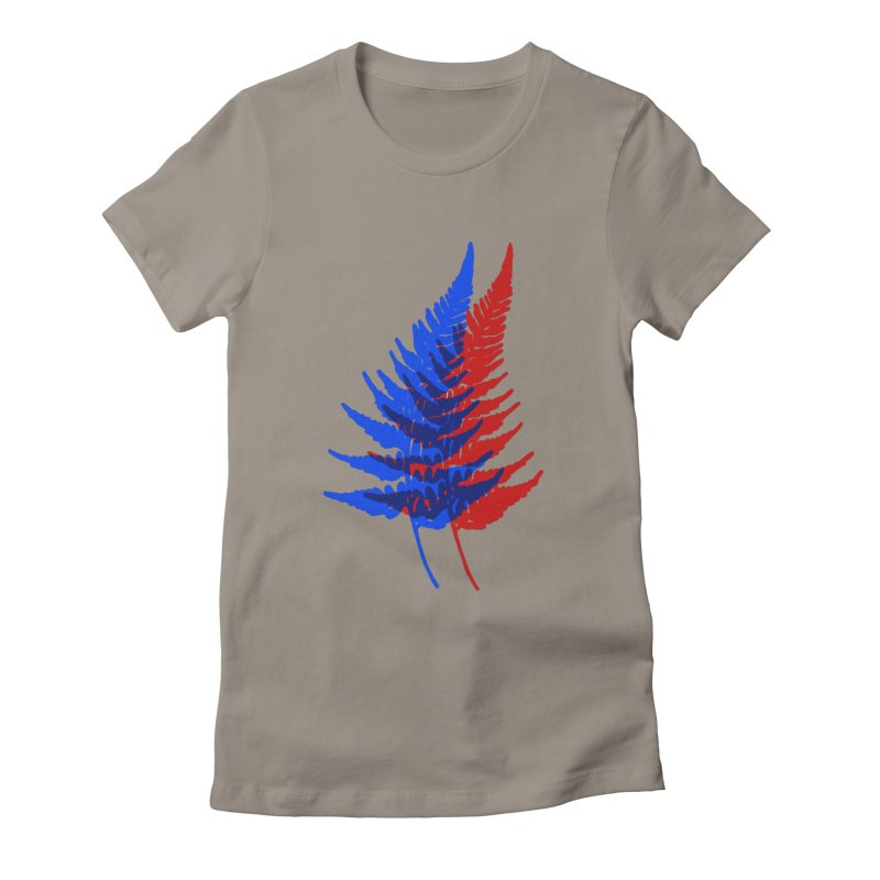 double fern Women's T-Shirt by EarthtoMonica