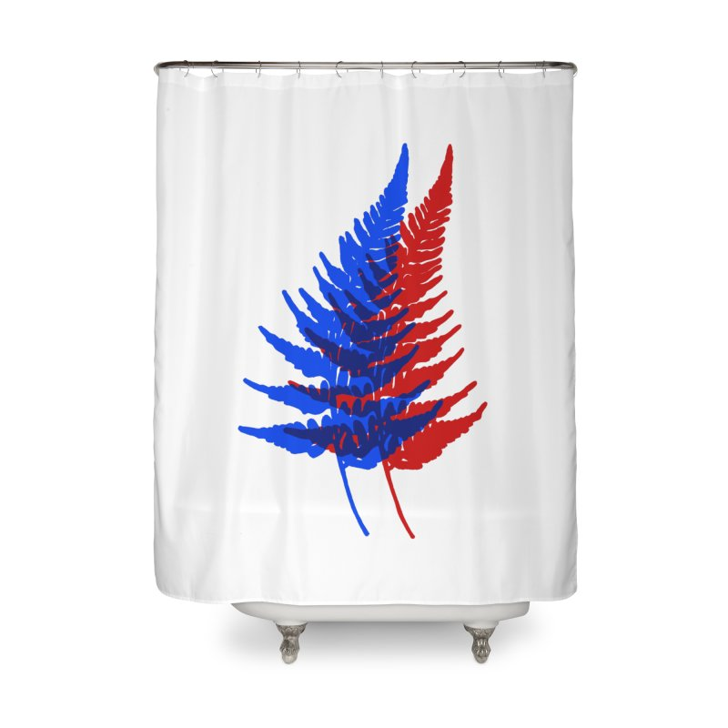 double fern Home Shower Curtain by Earthtomonica's Artist Shop