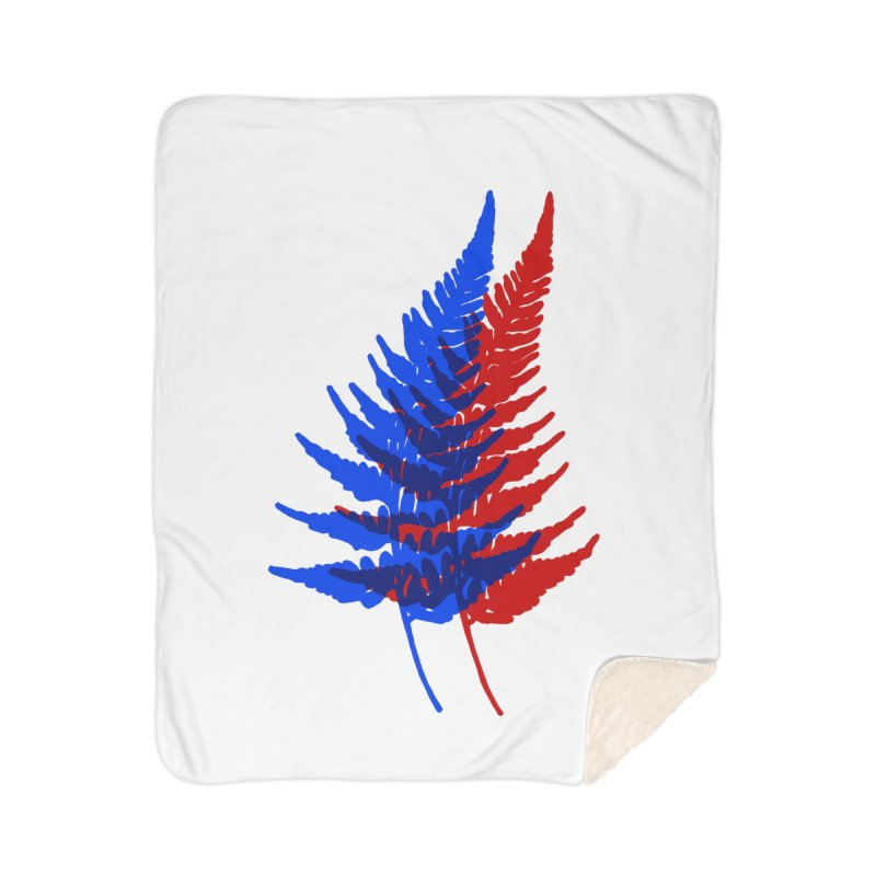 double fern Home Sherpa Blanket Blanket by EarthtoMonica