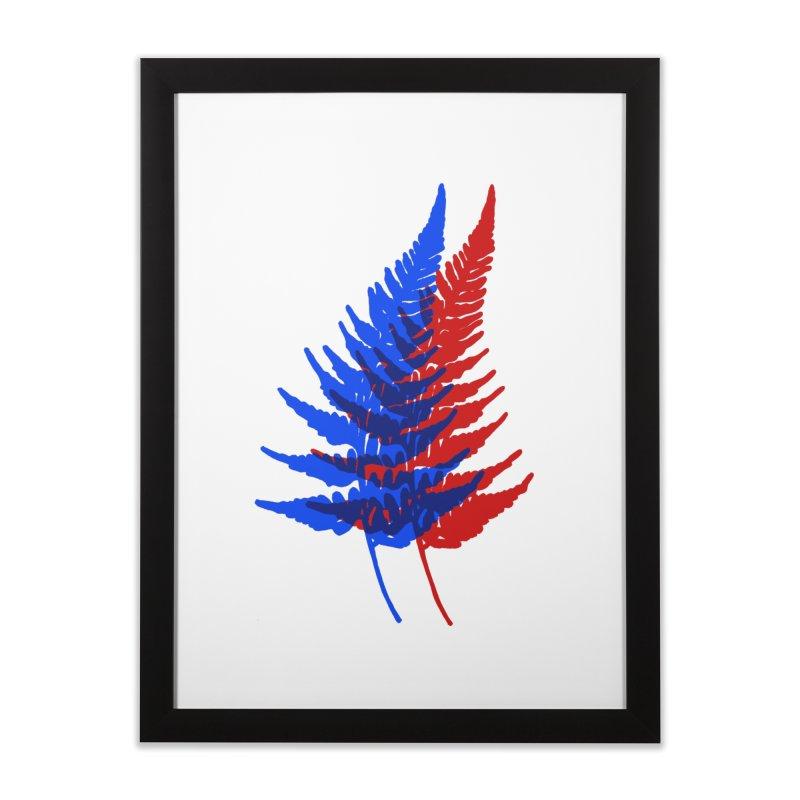 double fern Home Framed Fine Art Print by EarthtoMonica
