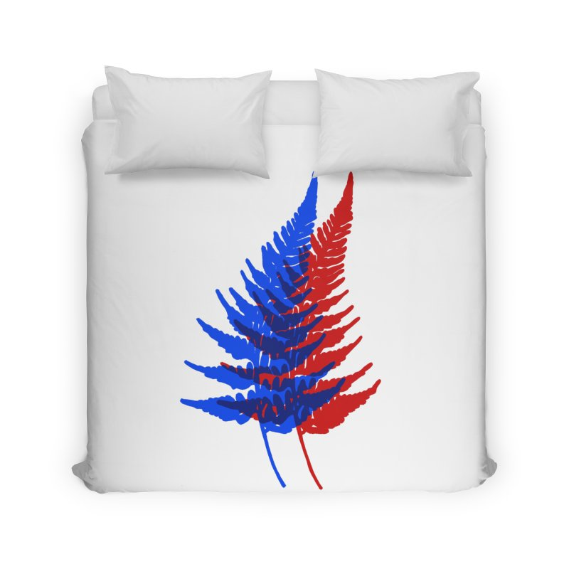 double fern Home Duvet by Earthtomonica's Artist Shop