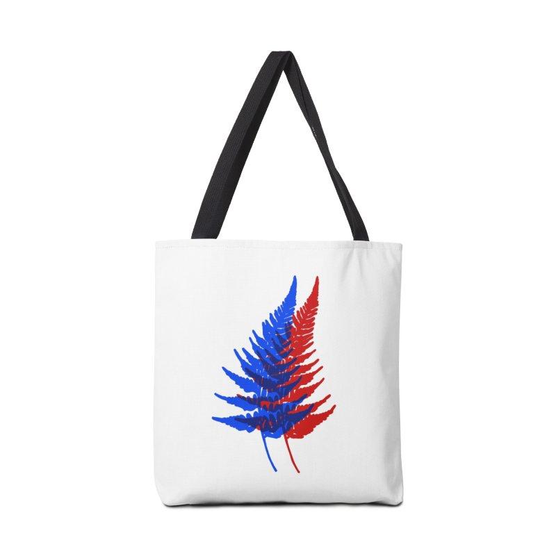 double fern Accessories Bag by Earthtomonica's Artist Shop