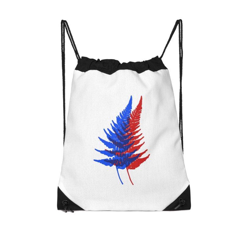 double fern Accessories Drawstring Bag Bag by EarthtoMonica