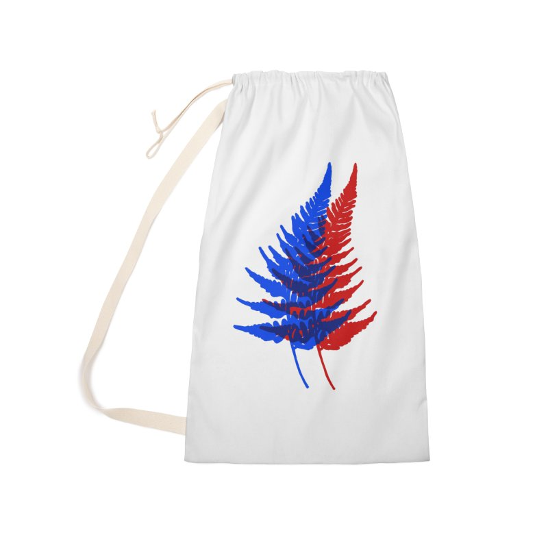 double fern Accessories Bag by EarthtoMonica