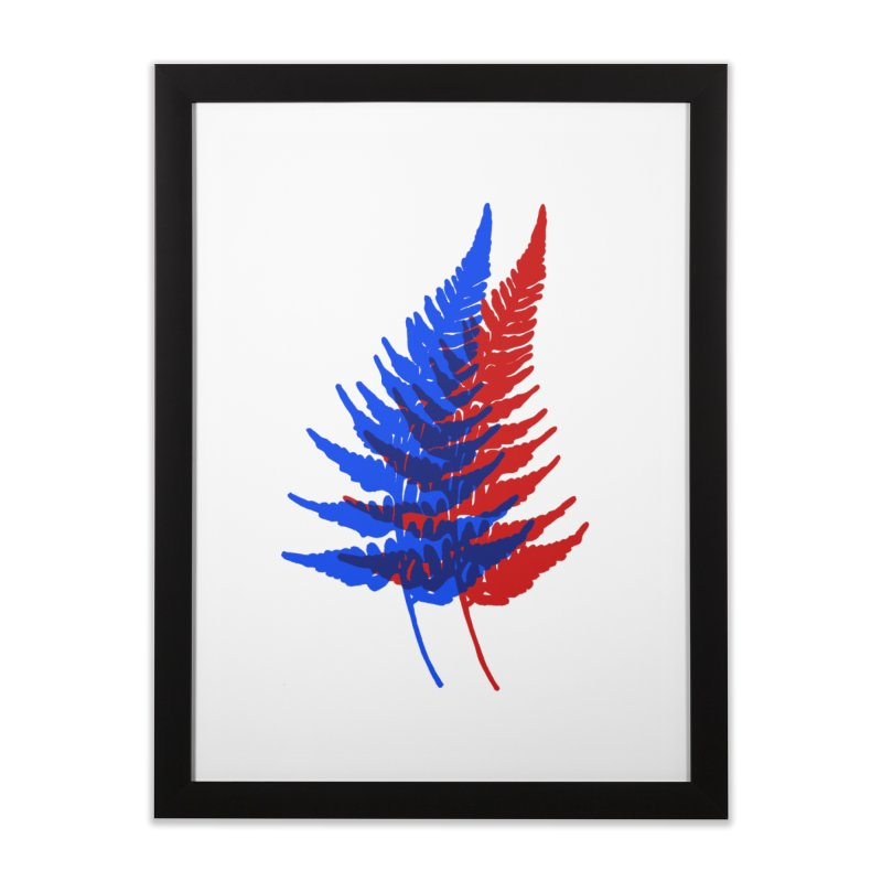 double fern Home Framed Fine Art Print by Earthtomonica's Artist Shop